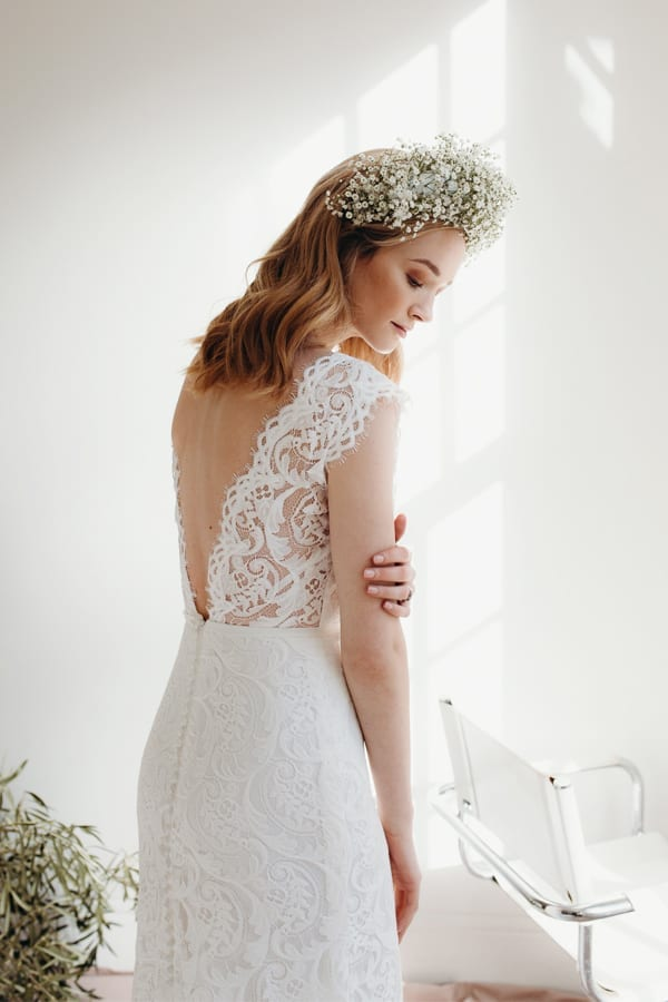Bluebell Lacey wedding dress