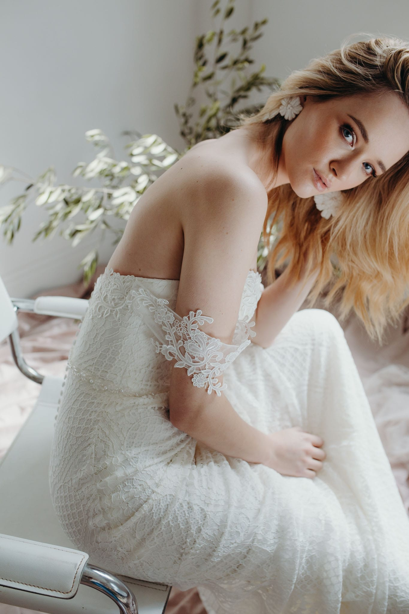 Aster wedding dress daisy brides